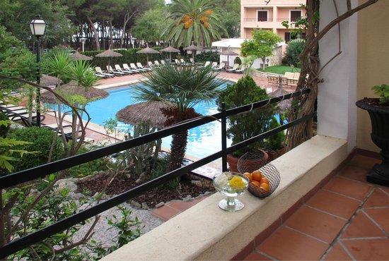 Hotel Bahia: вид на бассейн