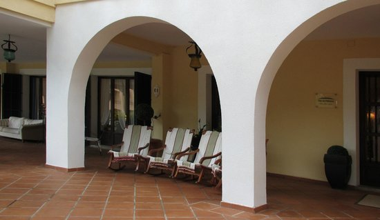Hotel Bahia: терасса
