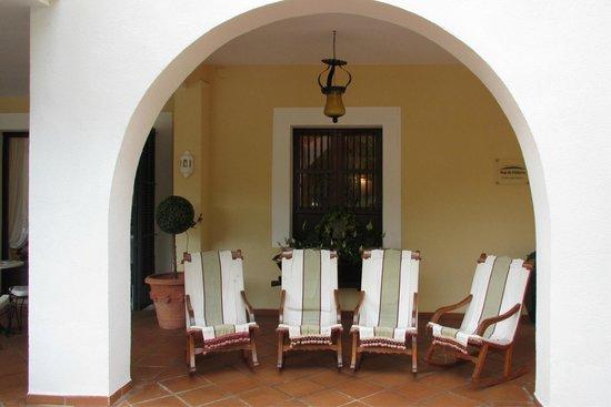 Hotel Bahia: шезлонги