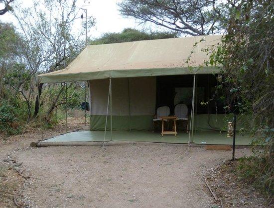 Porini Amboseli Camp: Our tent