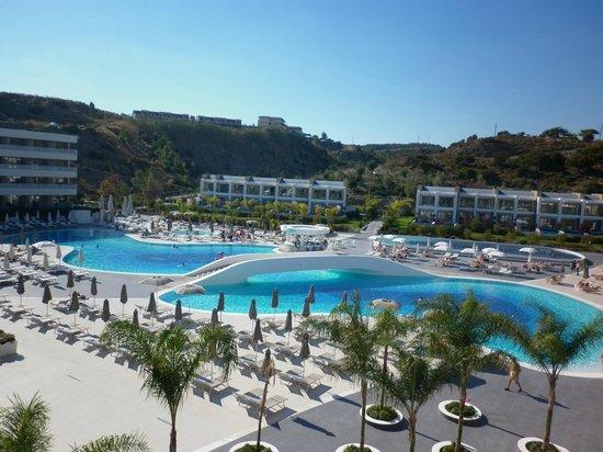 Princess Andriana Resort & Spa : room view