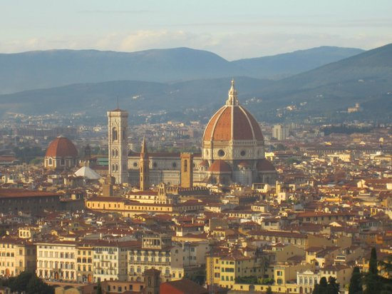 Hotel Casci: Florence in October sunshine