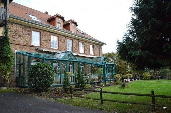 Ein Speiseraum Picture of Hotel Haus Neugebauer