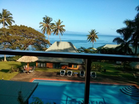 Nakia Resort & Dive: View from breakfast