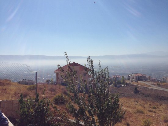 Beit El Kroum: view from the garden