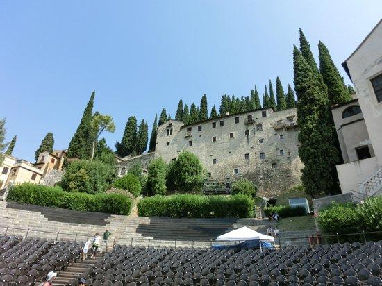 Teatro Romano: le gradinate