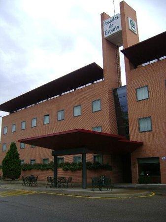 Posadas de Espana Pinto: Hotel Posadas de España Pinto, entrada, Pinto, Madrid.