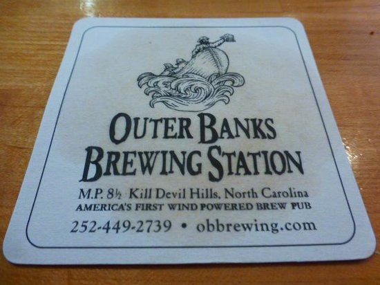 Outer Banks Brewing Station : Great place!