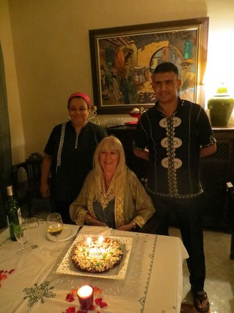 Dar Kantzaro: Birthday surprise from the staff