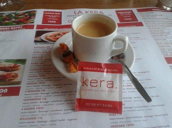 kera Pizzeria : Café
