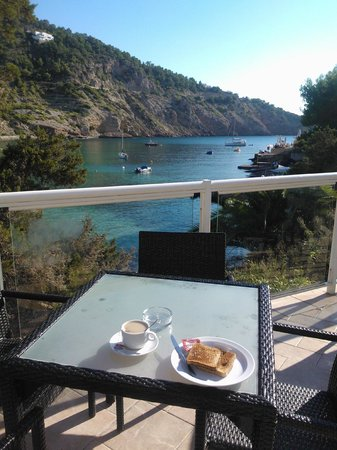 El Pinar Aparthotel: Breakfast with a view