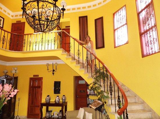 Casa Arequipa: escalier