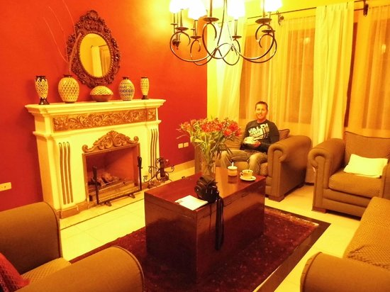 Casa Arequipa: salon