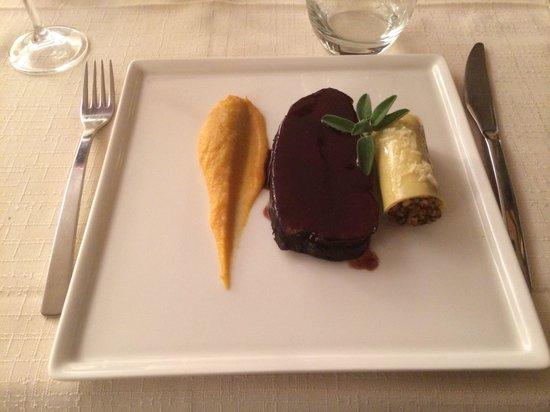 Auberge Le Robur Restaurant : Le plat principal