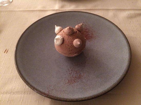 Auberge Le Robur Restaurant : Un dessert délicieux