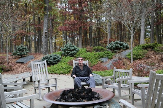 The Lodge at Woodloch : Firepit