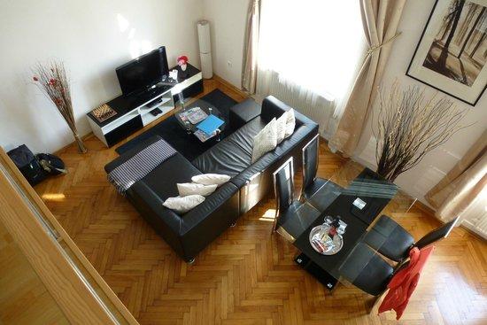 Welcome Budapest Apartments: Wohn-/Essbereich
