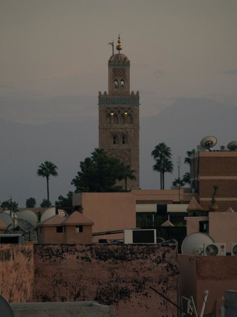 Riad Mur Akush: View from the roof-top terrace