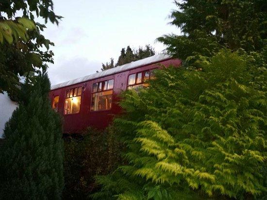The Old Station Inn : dinning carrige