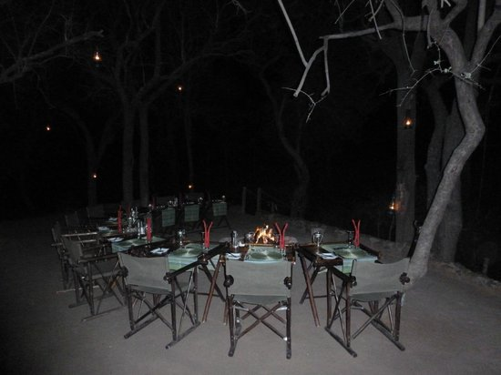 Cheetah Plains : Dining area