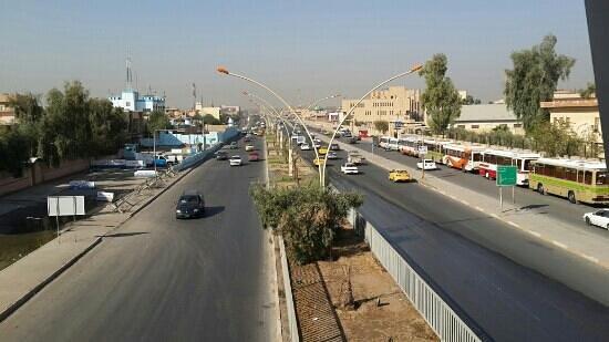 الموصل, العراق: شارع منصة الاحتفال