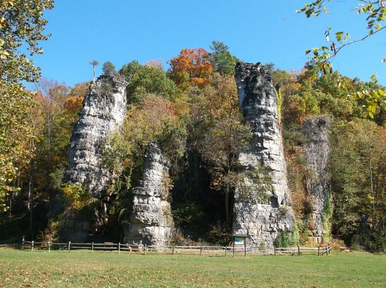 Natural Chimneys Park and Campground