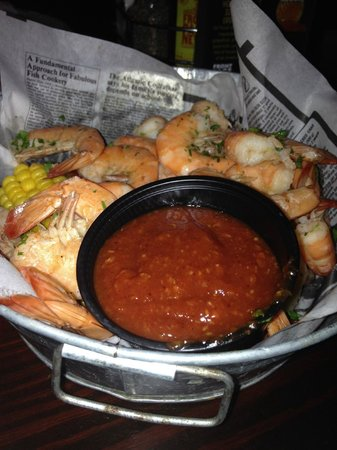 Shrimp Boil at Front Page News, ATL,GA