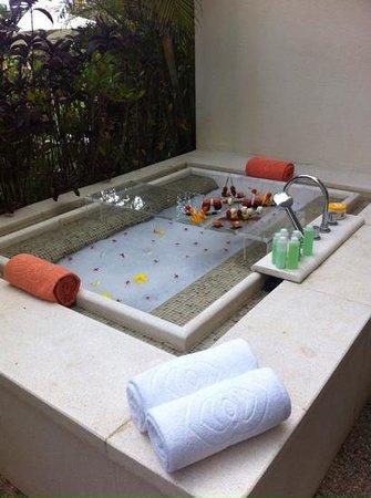 Sofitel So Mauritius: baignoire