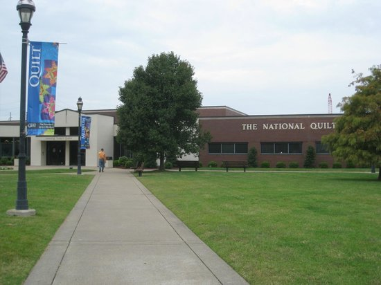 The National Quilt Museum: Only Photo you can take