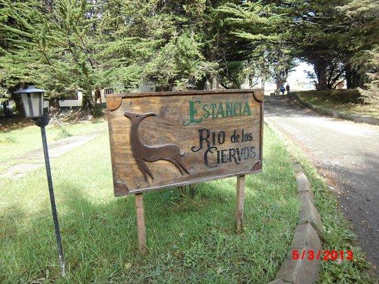 Estancia Rio de Los Ciervos: Entrada