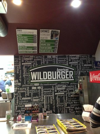 American wild burger
