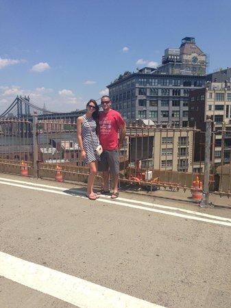 Brooklyn Bridge: Other view of another bridge