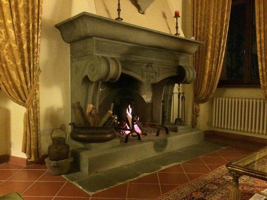 Villa Poggiano: Gathering Room in the Villa
