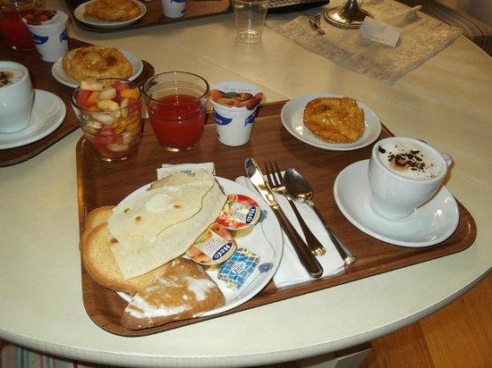 La Ghirlanda: delicioso desayuno