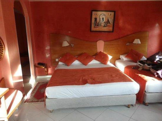 Hotel Mounia: notre chambre2