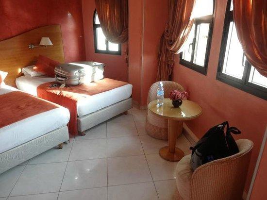 Hotel Mounia: vue de notre chambre