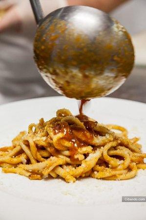 San Cesareo, Italia: pasta fresca fatta in casa a la matriciana