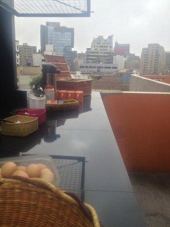 Puriwasi Hostel: desayuno PURIWASI