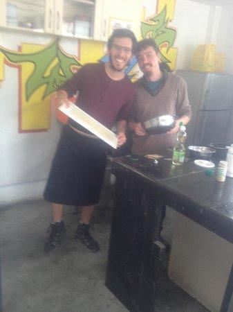 Puriwasi Hostel: una tarde de cocina
