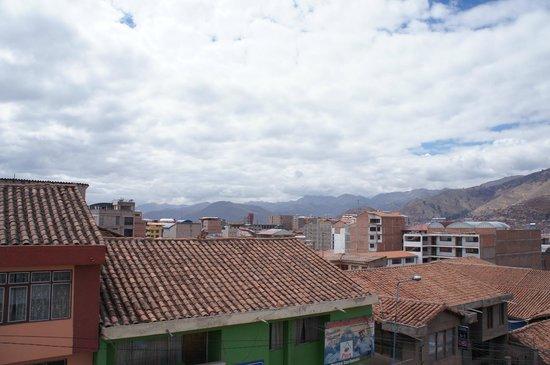Hotel Unumizu Cusco: vue