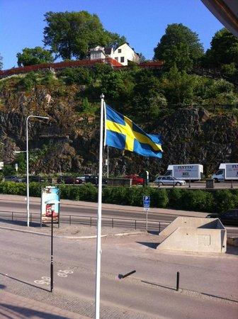 Rygerfjord Hotel and Hostel : Vue côté quai