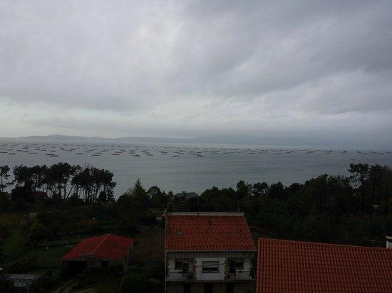 Hotel Mirador Ria de Arosa: Vistas desde la terraza