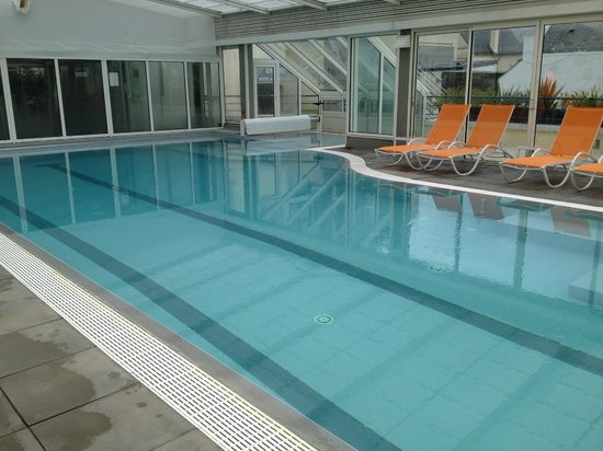 BEST WESTERN PLUS Celtique Hotel & Spa : Vue de la piscine