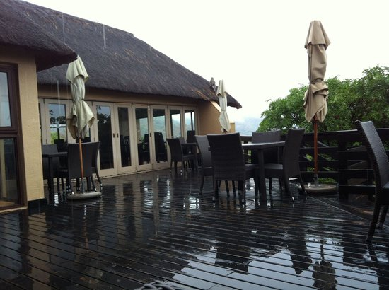 Bongani Mountain Lodge : Leider überwiegend Regenwetter