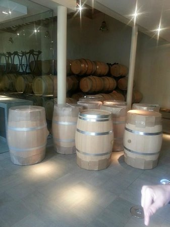 French Wine Adventures - Day Tours: New barrels!