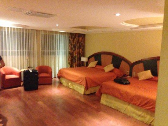 Hotel Escandon : chambre