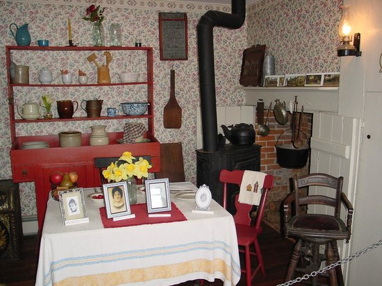 Jennie Wade House: the kitchen