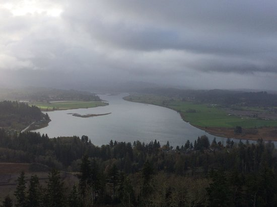 View from the top of Astoria column