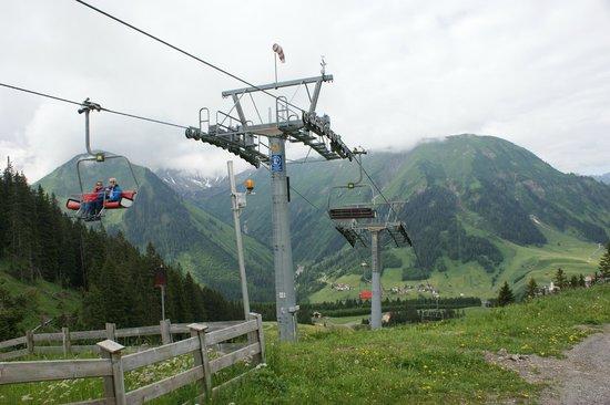 Hechenbergerhof: Подъемник на лыжный склон