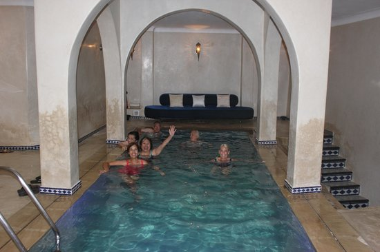 Lina Ryad & Spa : Indoor pool